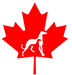Greyhound Pets of America – Canada Logo